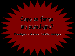 Paradigma - Perto da natureza