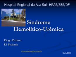 Síndrome Hemolítico-urêmica