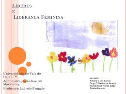 Líderes e Liderança Feminina
