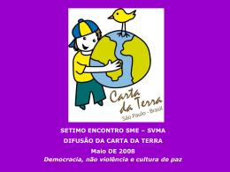 2º Encontro - Prefeitura de São Paulo
