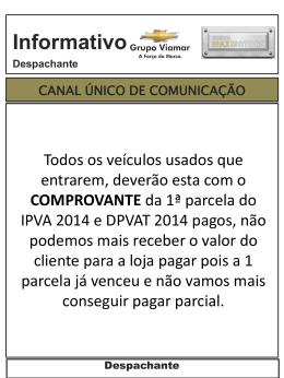 IPVA 2014 VENCIMENTO 2