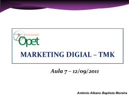 Slide 1 - MARKETING DIGITAL
