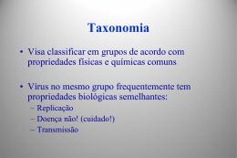 Família Paramyxoviridae Subfamílias: Paramyxovirinae