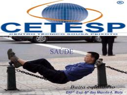 saúde publica - CETESP.