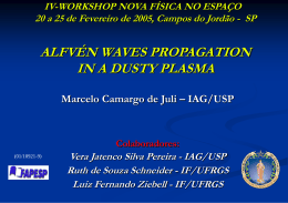 Alfvén waves propagation in a dusty plasma