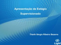 Apresentação Thárik Sérgio R. Bezerra