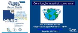 Constipação Intestinal - Paulo Roberto Margotto