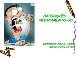 Interacoes Medicamentosas