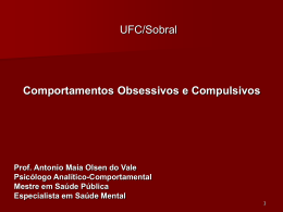 Prof. Antonio Maia Olsen do Vale Psicólogo Analítico