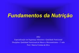 Qualidade Nutricional (2011)