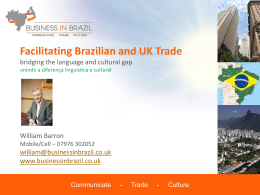 Facilitating Brazilian and UK Trade