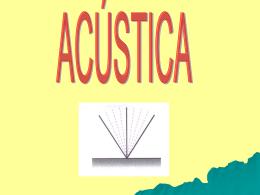 Aula – Acústica