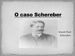 O caso Schereber