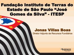 Regularização Fundiária Rural no - Itesp