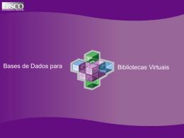 Como montar uma biblioteca virtual - EBSCO