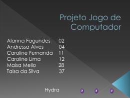 Projeto do Jogo