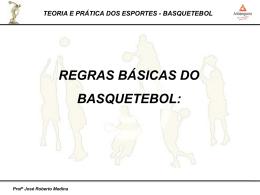 Aula 2 – Regras oficiais – Basquetebol – 2014