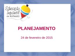 Apresentação sobre Planejamento (24/02)