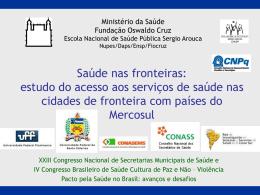 XXIII Conasems Joinville