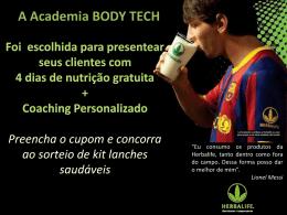 4 dias de nutrição Gratuita + Coaching Personalizado