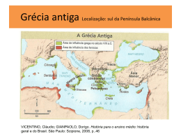 Aula 2 – Grécia antiga