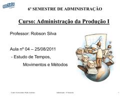 6º semestre - aula4 - 25.08.11