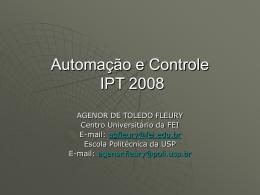 Automação e Controle IPT 2008
