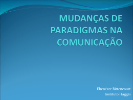 paradigmas e mudanças na comunicação