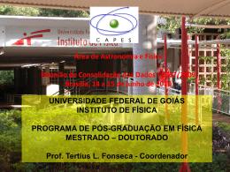 UFG - Instituto de Física / UFRJ