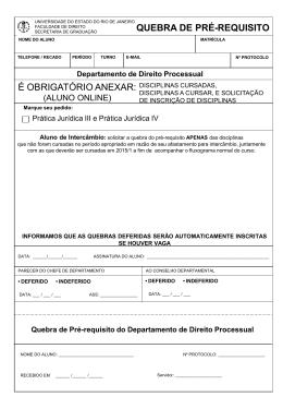 Slide 1 - Faculdade de Direito da UERJ