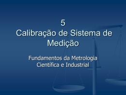 Capítulo 5 - Laboratório de Metrologia e Automatização
