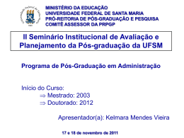 Doutorado em Administração