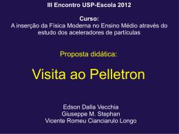 III Encontro USP-Escola 2012 Curso - ATP