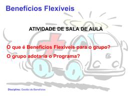 Benefícios Flexíveis Disciplina