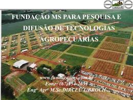 BENEFÍCIOS DA PECUÁRIA (pastagem) PARA A AGRICULTURA