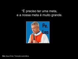 Homenagem a Padre Léo