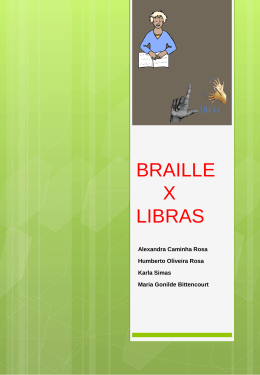 AT de Braille - WordPress.com