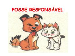 Apresentação: Posse Responsável para crianças.