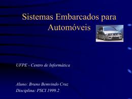 ESE em automoveis - Centro de Informática da UFPE