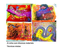 Impressão, decalque (cera e lápis de cor )