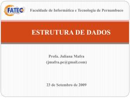 Listas - Centro de Informática da UFPE