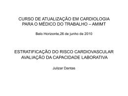 risco alto - Trabalho & Coração Saudáveis