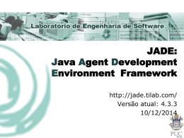 Jade Framework - Apresentação - (LES) da PUC-Rio