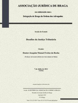Cartaz - Ordem dos Advogados