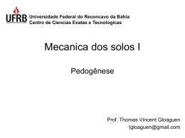 Pedogenese 1 () - Geociências