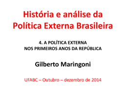 tica Externa Brasileira – Aula 4