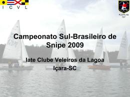 Campeonato SulBrasileiro de Snipe 2009