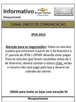 2° PARCELA IPVA 2014