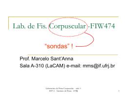 Aula expositiva 1 - Instituto de Física / UFRJ