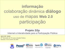 Projeto 2i2p